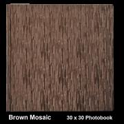 Brown Mosaic