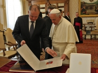Unique photo book for Pope Francis