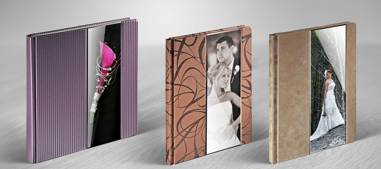 Photo books with an acrylic photo!