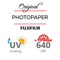 Paper type • 640 DPI • UV protection